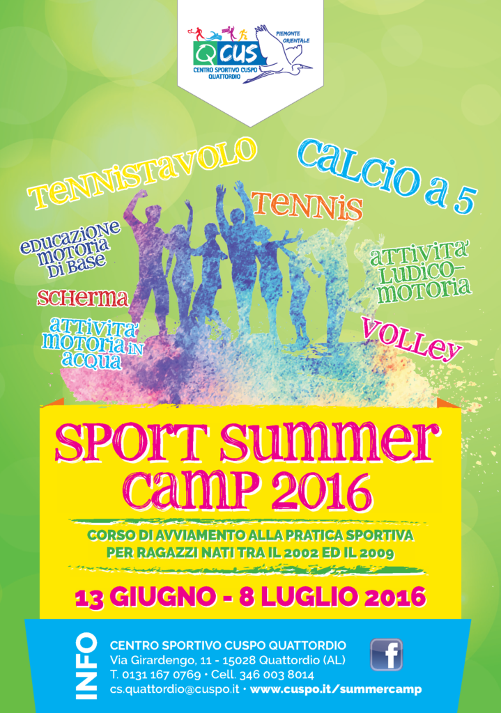 summer sport camp Bring your game to a whole new level at a sports camp on wwwsummercampscom gain the competitive edge you need in whatever sport you love whether it be soccer.