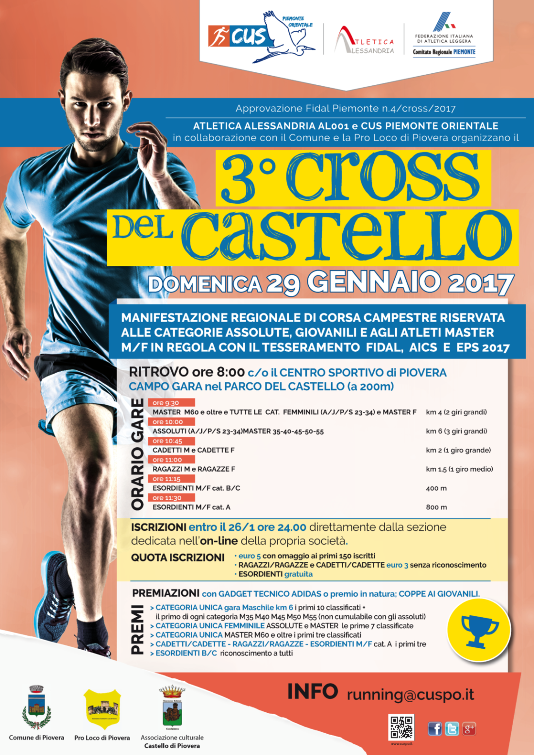 3° Cross del Castello