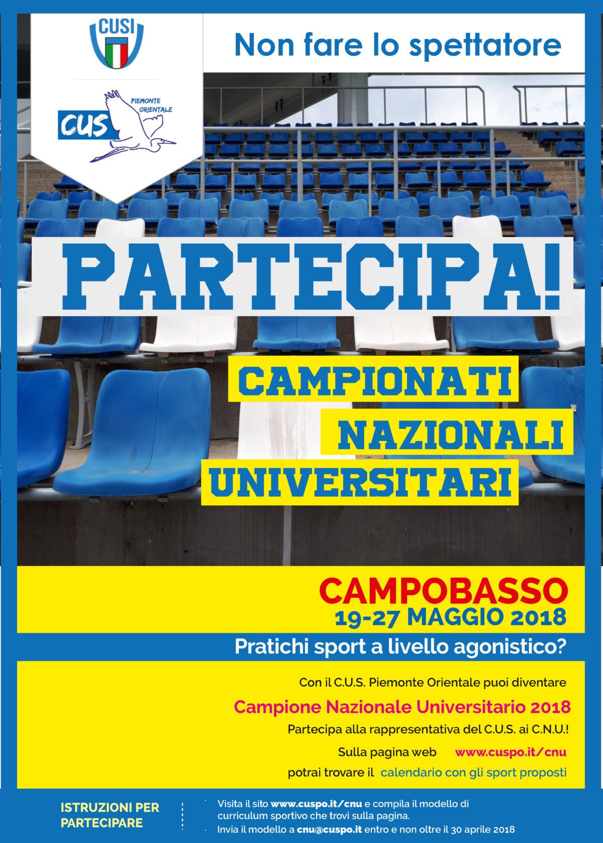 Campionati Nazionali Universitari