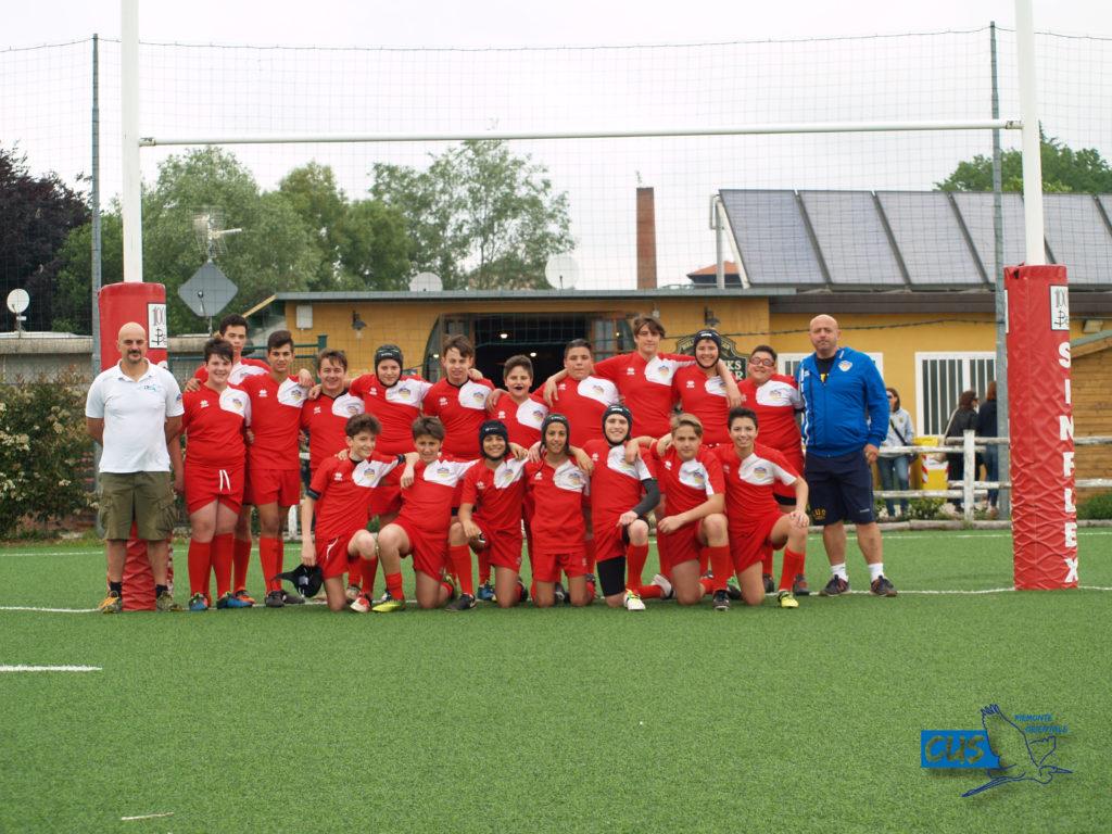 Rugby Academy: Under14  al Torneo di Biella, ottimo banco di prova per gli Aironi