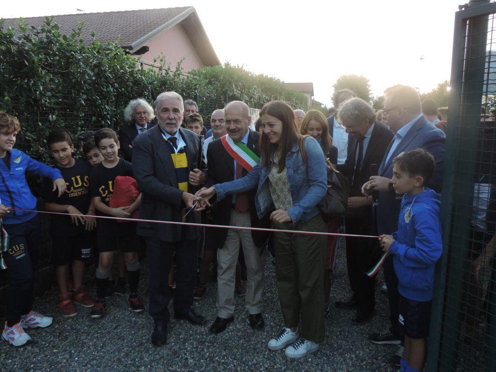 Inaugurata la nuova casa del rugby: weekend di festa!