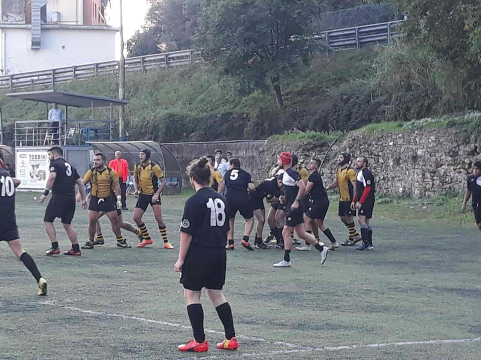 Seniores Rugby: vittoria con il Cogoleto. BH Under16 battuti in casa dal Monferrato