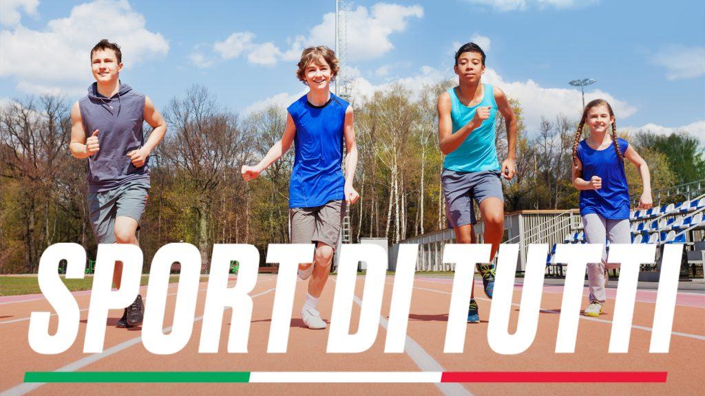 Sport di tutti: lo sport per tutti, non solo per pochi.